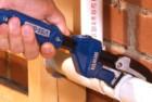 vise grip 274001sm 11-inch aluminum quick adjust pipe wrench