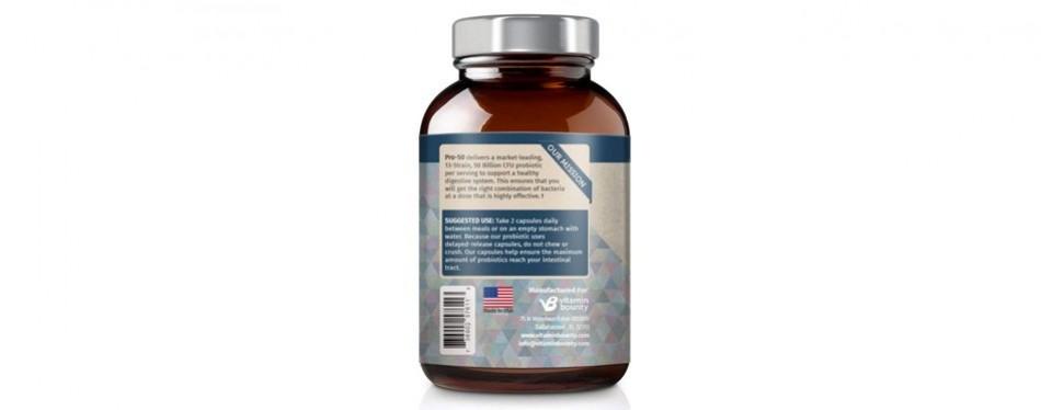 vitamin bounty probiotic- pro 50