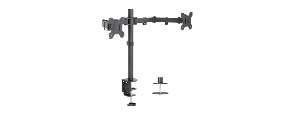 vivo dual lcd led monitor desk mount stand