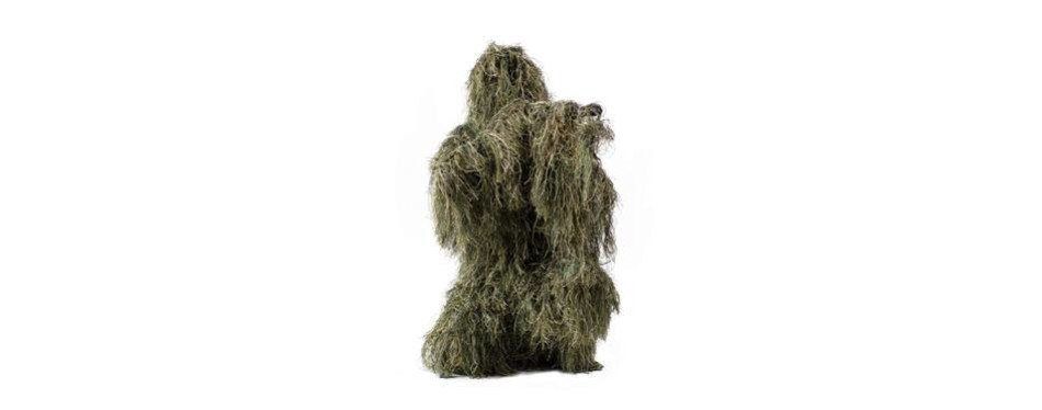 vivo ghillie suit camo woodland camouflage forest hunting