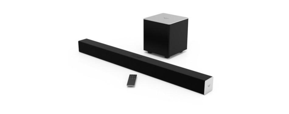 vizio sb3821-c6 38-inch 2.1 channel soundbar with wireless subwoofer