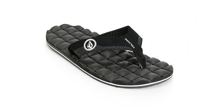 volcom recliner flip flops