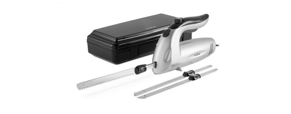 vonshef 10-inch electric knife