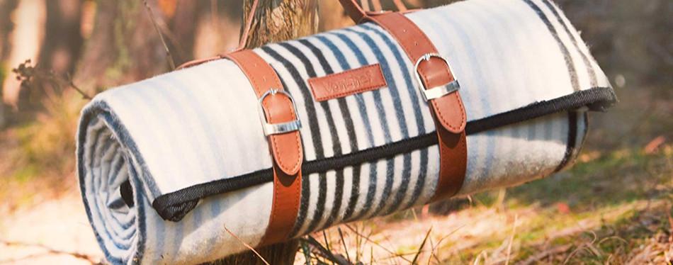 vonshef large waterproof picnic blanket