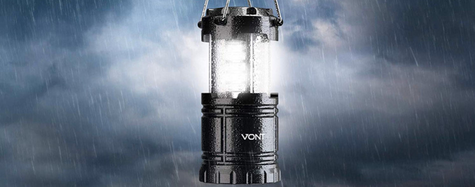 vont 4 pack led camping lantern