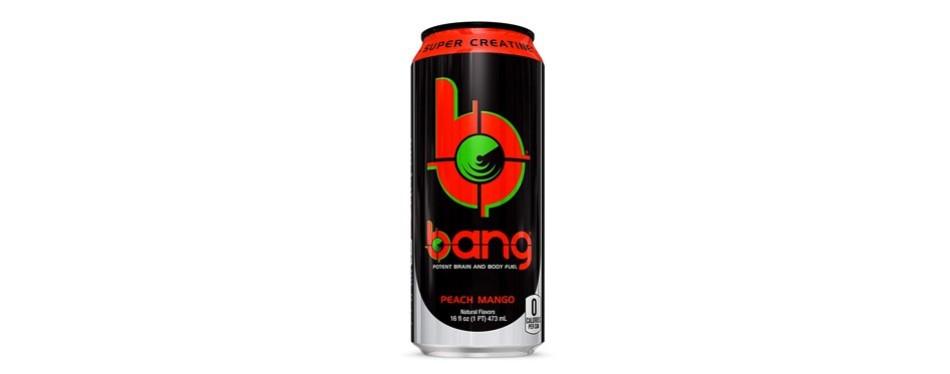 vpx bang peach mango energy drink