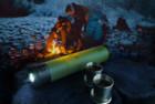 VSSL Camp Flashlight Flask