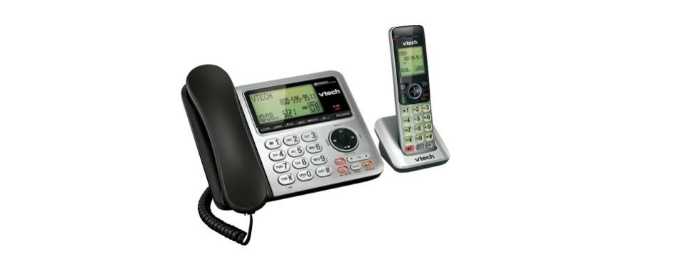 vtech cs6649 corded/cordless phone system
