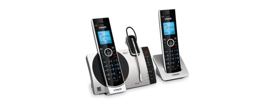vtech ds6771-3 dect 6.0 expandable cordless phone