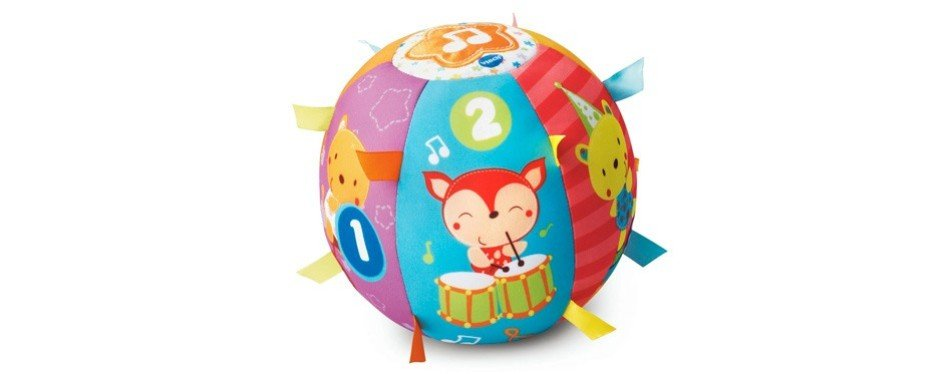 vtech lil' critters roll & discovery ball