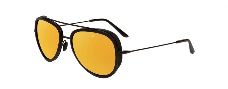 vuarnet pilot edge 54mm aviator sunglasses