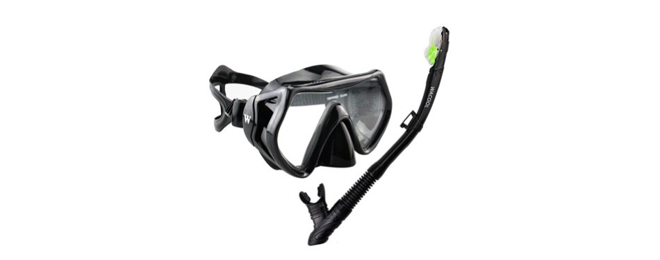wacool snorkeling package set for adults