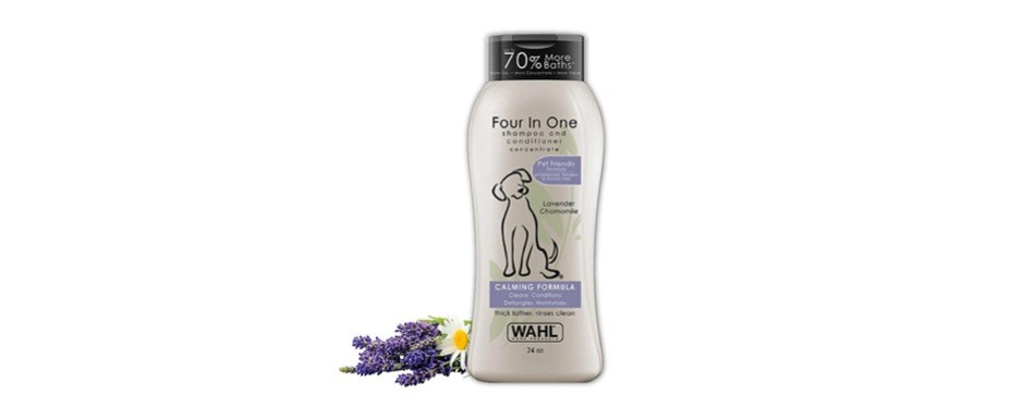 wahl dog puppy shampoo