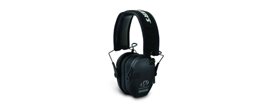 walker's razor slim electronic hearing protection muffs