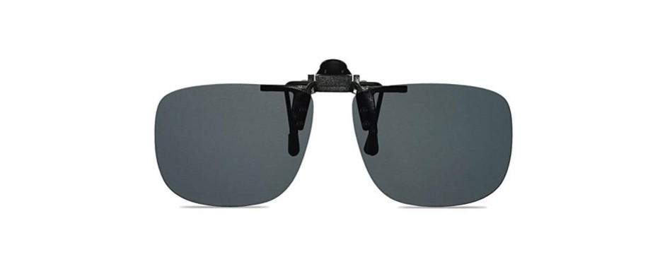 wangly polarized clip on flip up sunglasses