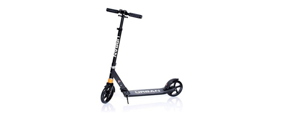 wasatch urban deluxe aluminum big person kick scooter