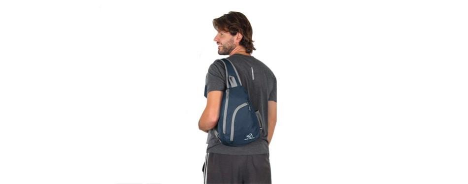 waterfly crossbody sling bag