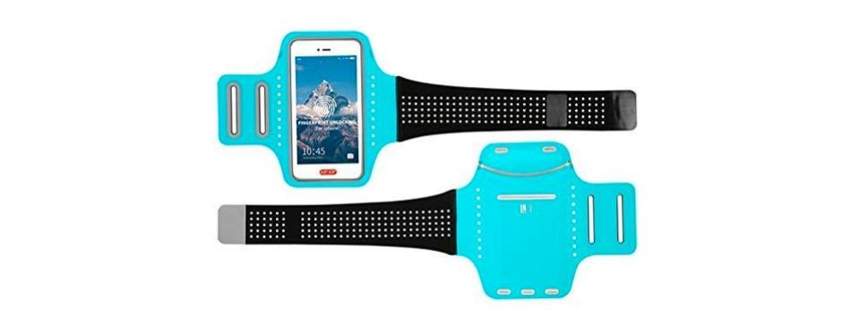 waterproof arm phone holder for running armband