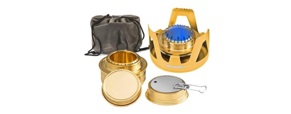 wealer's camping mini stove