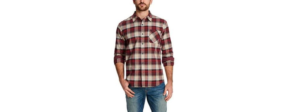weatherproof vintage men's flannel shirt