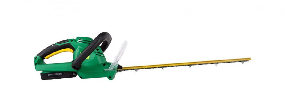 weed eater we20vh 20-volt lithium-ion rechargeable battery powered hedge trimmer