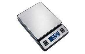 weighmax w-2809 90lb stainless steel digital postal scale