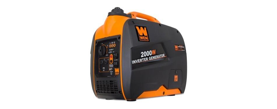 wen portable generator w inverter