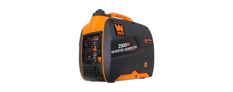 wen super quiet 2,000 watt inverter generator