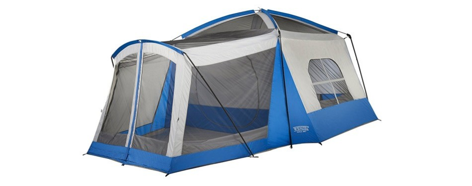wenzel eight-person klondike blow-up tent