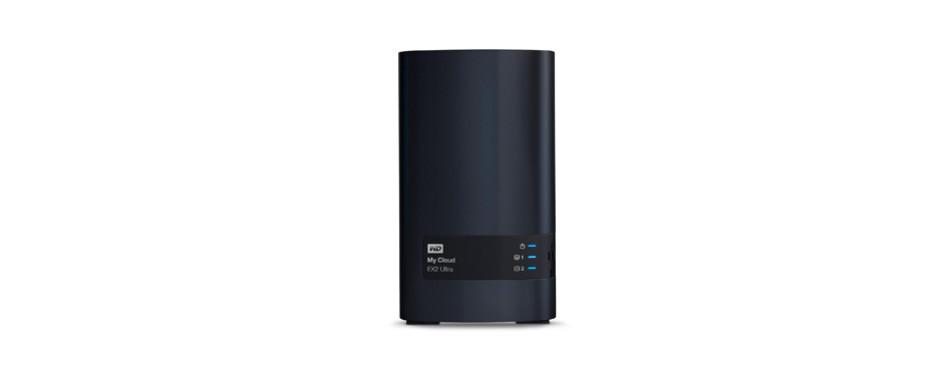 western digital 8tb my cloud ex2 ultra network attached storage