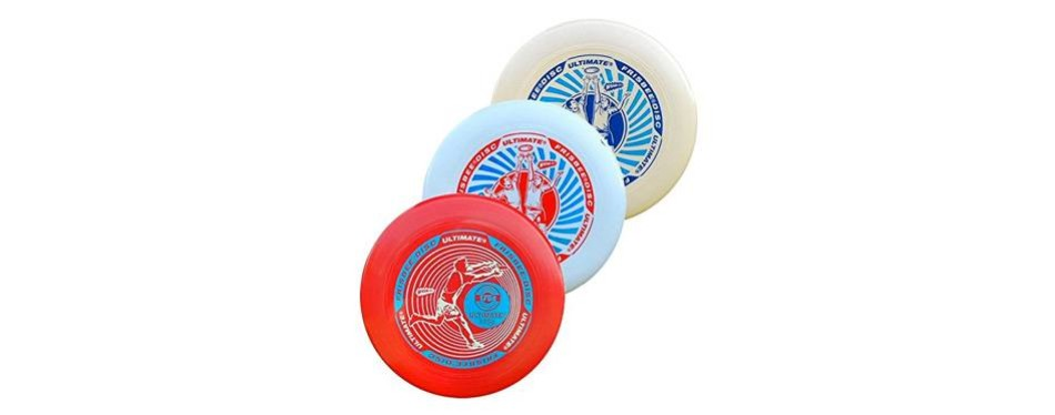 wham-o ultimate flying disc frisbee