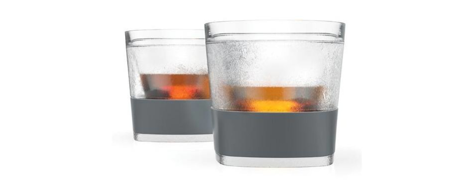 whiskey glasses freeze cooling cups by host