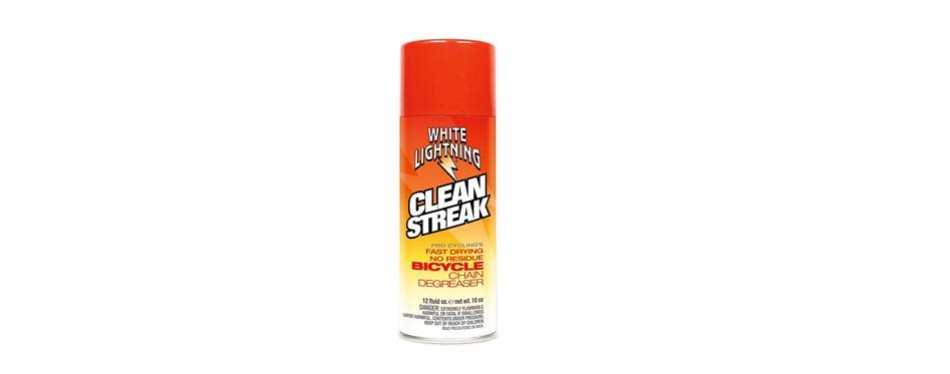 white lightning clean streak bicycle degreaser