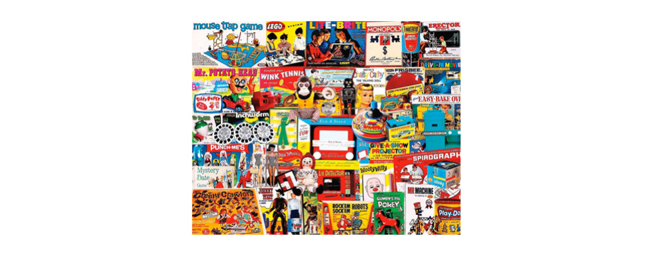 white mountain puzzles – had one of those – 1000 piece jigsaw puzzle