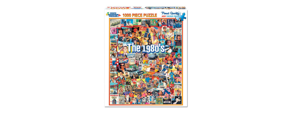 white mountain puzzles – the eighties - 1000 piece jigsaw puzzle