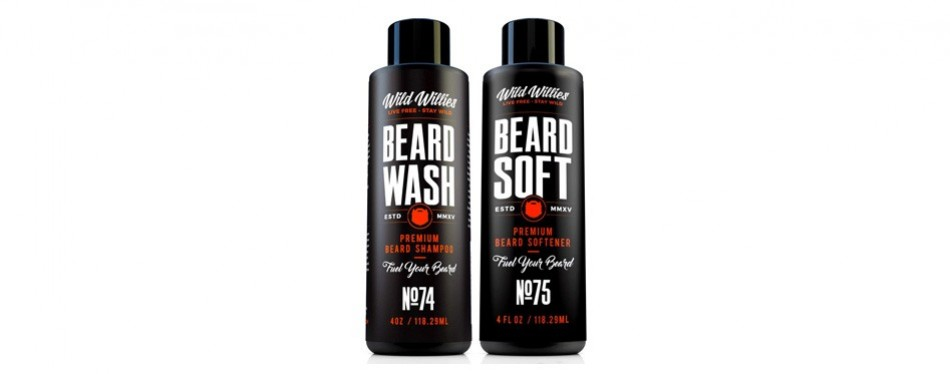 wild willies beard wash and conditioner bundle