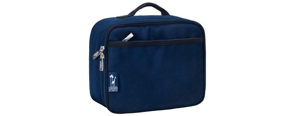 wildkin whale blue lunch box
