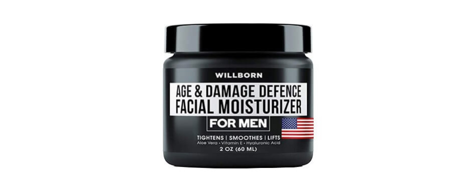 willborn man cream - anti aging cream - damage defence facial moisturizer