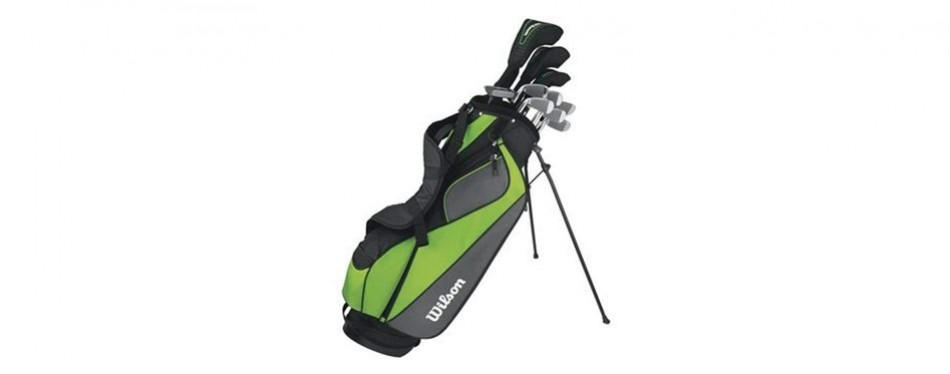 wilson golf hyperspeed complete standard golf club set