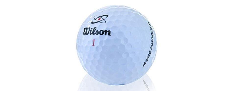 wilson smart core golf balls