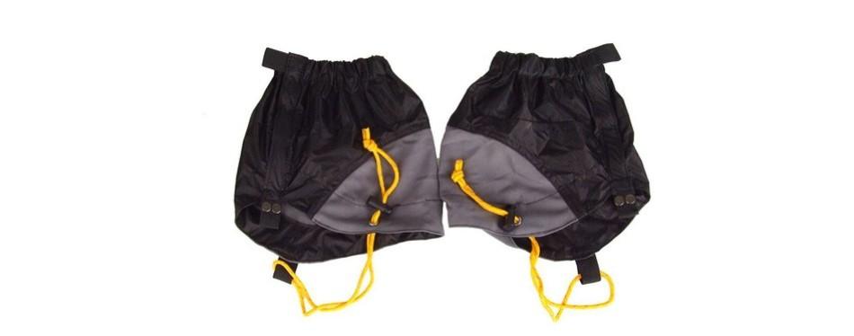winomo adjustable outdoor waterproof ankle walking gaiters