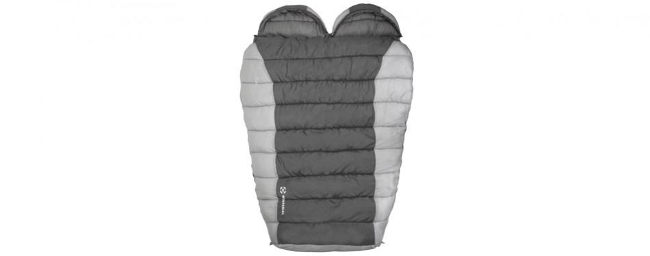 winterial double mummy sleeping bag
