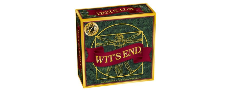 wit's end trivia board game