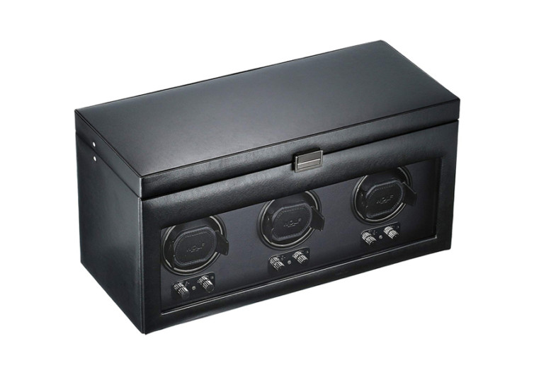 Wolf Designs Heritage Triple Watch Winder