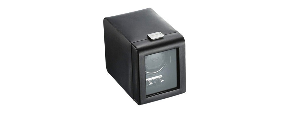wolf heritage single watch winder case
