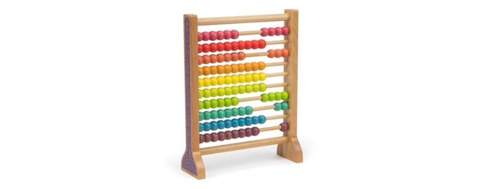 wooden abacus classic counting tool