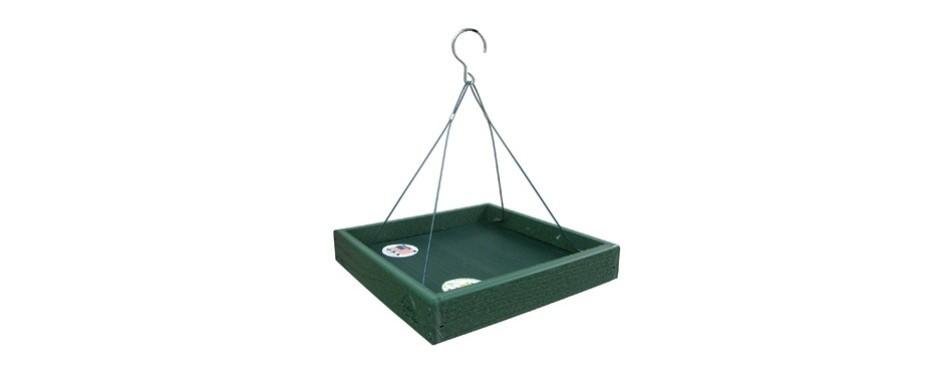 woodlink going green platform bird feeder