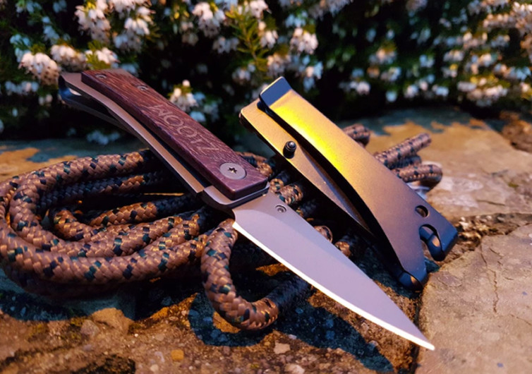 Wootz EDC Pocket Knife