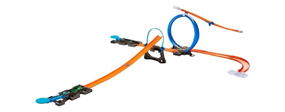 workshop hot wheels track builder starter kit
