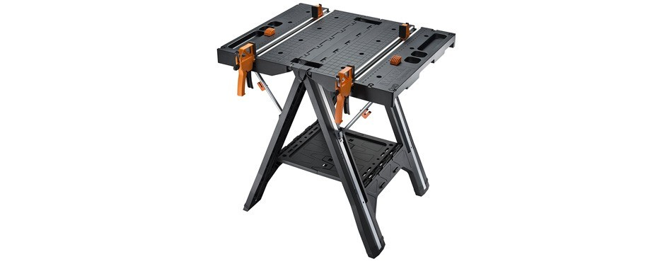 worx pegasus multi-function work table and sawhorse
